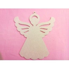4mm MDF Angel Hanging 200mm